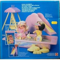 Famiglia Cuore Heart Family - giochi acqua e sabbia 1988