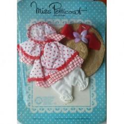 Vestito per bambola Miss Petticoat