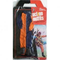 Vestito paracadutista per personaggi 30 cm