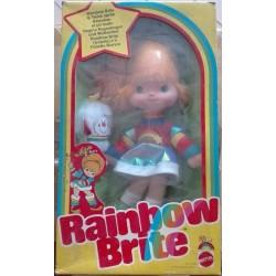 Bambola Iridella e folletto bianco Rainbow Brite & Twink Sprite 1983
