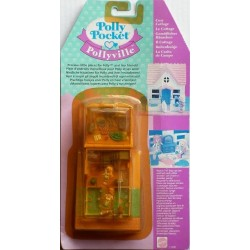 Polly Pocket Pollyville Il cottage 1995