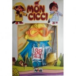 Polistil Moncicci Monchhichi vestito discesista