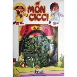 Polistil Moncicci Monchhichi vestito soldato alla guerra