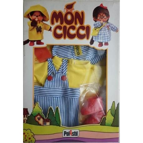 Polistil Moncicci Monchhichi vestito meccanico