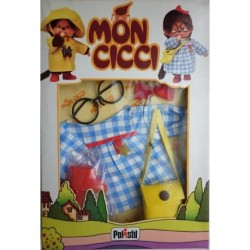 Polistil Moncicci Monchhichi vestito scuola