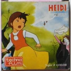 Techno film Super 8 heidi diventa Principessa - Il silenzio di Heidi