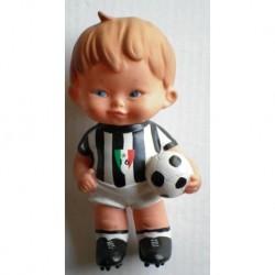 Calcio FC Juventus pupazzo mascotte anni 60