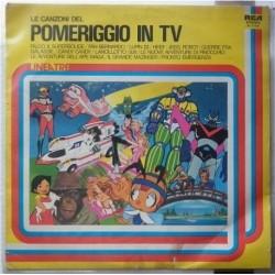 Disco LP Pomeriggio in TV sigle cartoni animati