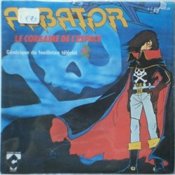 Disco vinile 45 giri Capitan Harlock Albator