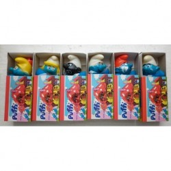 Peyo set Puffi mascotte fiammiferino 1982