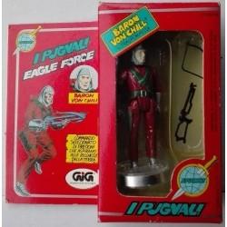 Mego Eagle Force personaggio Baron Von Chill