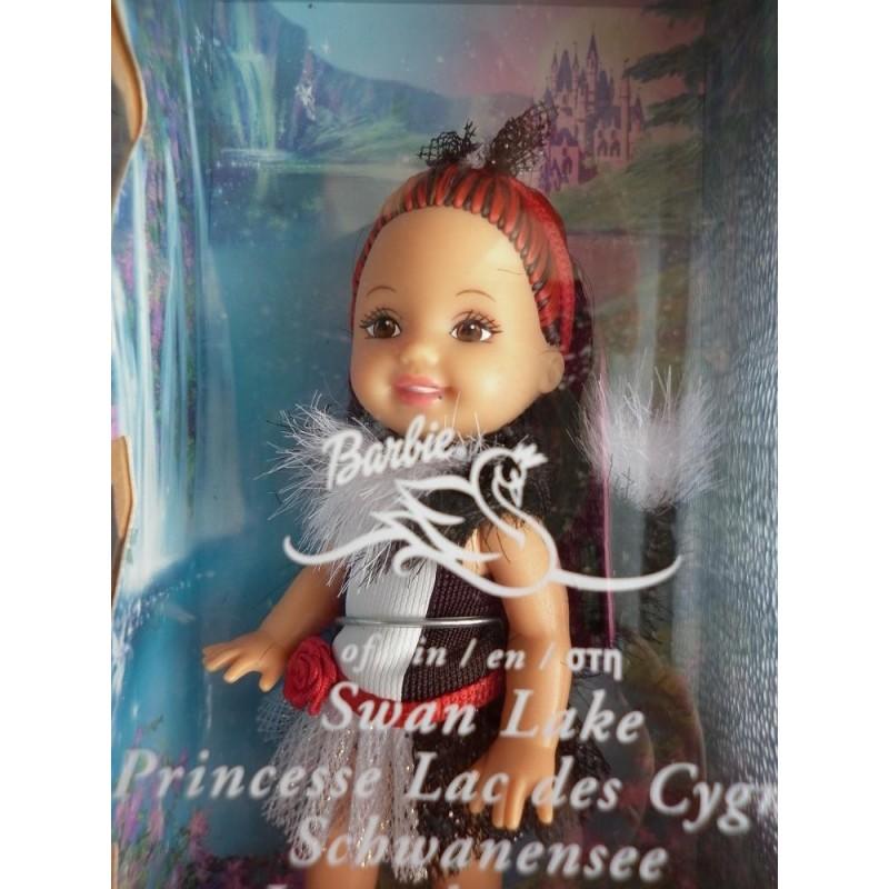 Barbie bambola shelly lago dei cigni maria puzzola oldtoys