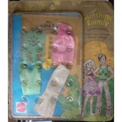 Famiglia Felice Sunshine Family Vestito Dress Kit Stencil Designs