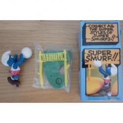 4.0223 40223 Schleich Peyo Super Smurf Puffo giocatore pallavolo 1981