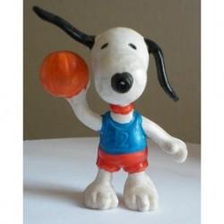 Personaggio Snoopy pallacanestro miniatura
