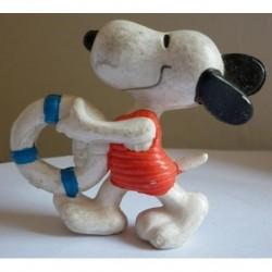 Personaggio Snoopy salvagente miniatura