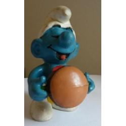 Schleich Peyo puffo con panino 1983