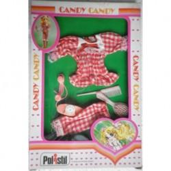 Vestito rosso con telefono per Bambola Candy Candy
