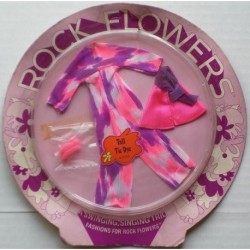 Mattel Rock Flowers Vestito Tall Tie Dye