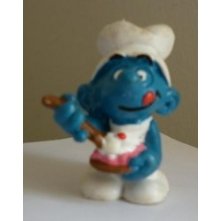 Schleich Peyo Puffo cuoco pasticcere 1982
