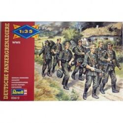 Revell soldatini 2 guerra mondiale fanteria pesante tedesca 1/35