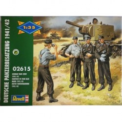 Revell soldatini 2 guerra mondiale carristi tedeschi 1/35