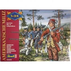 Revell soldatini Milizia americana guerra di indipendenza
