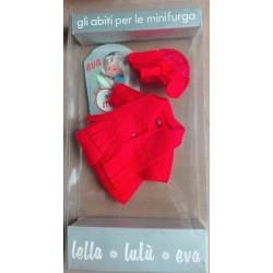 Furga bambola minifurga Lella e Lulu' cappotto arancione