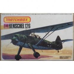 Matchbox aereo da guerra Henschel 126 1/72 1979