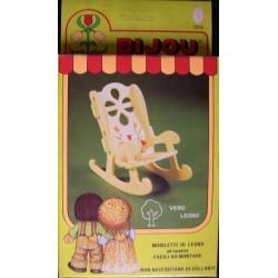Ceppiratti sedia a dondolo per bambola Bijou