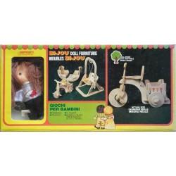 Ceppiratti bambola Bijou e set accessori
