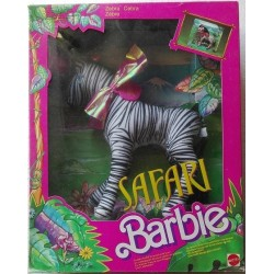 Mattel Barbie Safari Zebra 1988