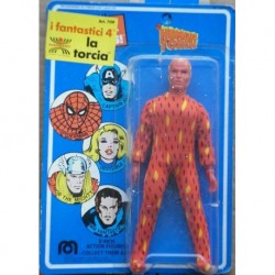 Mego personaggio Super Eroi Fantastici 4 Torcia Umana Human Torch