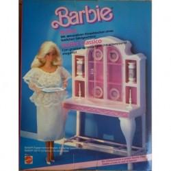 Barbie Arredo Buffet classico 1985