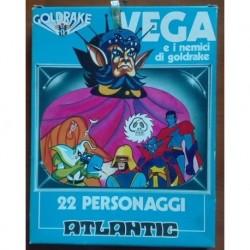 Soldatini Atlantic Vega e nemici di Goldrake