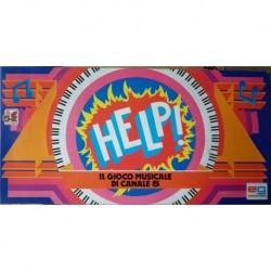 Gioco da tavolo musicale Help Canale 5 1984