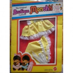 Moncicci Monchhichi Boutique completo mare 1982