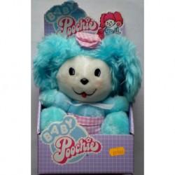 Pupazzo baby Poochie peluche azzurro 1986
