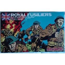 Atlantic 53 soldatini serie Eserciti WWII Royal Fusiliers H0