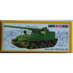 Airfix carro armato 155 mm Self- propelled gun H0