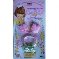Pimpirosa le Margherite farfalle fermacapelli braccialetto fiore