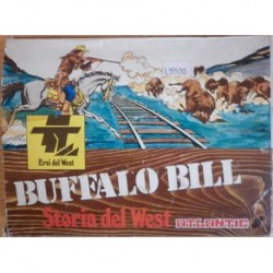 Atlantic soldatini serie Storia del West Buffalo Bill 1/32