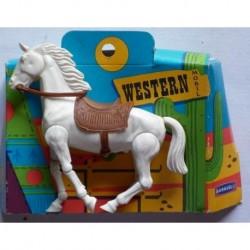 Baravelli Western Mobil cavallo bianco 1/24