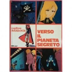 Libro cartonato Capitan Harlock Il pianeta segreto 1978
