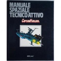 Libro cartonato Capitan Harlock Manuale spaziale tecnoattivo 1979