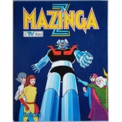Libro cartonato Mazinga Z Mazinger il TV libro 1979