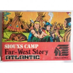 Atlantic soldatini serie Storia del West Sioux Camp H0