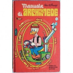 Disney Mondadori Manuale di Archimede 1973