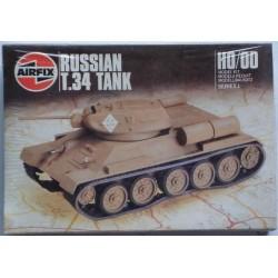 Airfix carro armato Russian T.34 tank H0 1986
