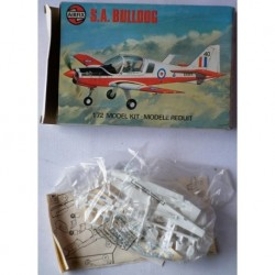 Airfix aereo S.A. Bulldog 1/72 1976